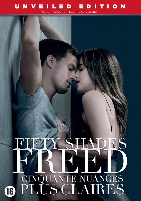 DVD cover van Fifty Shades Freed