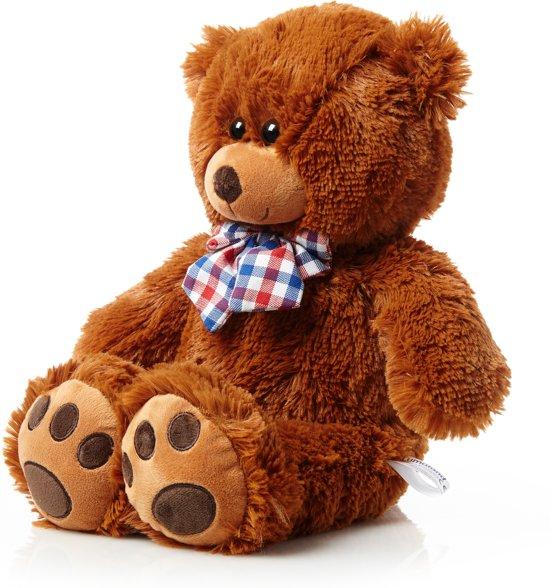 Lumaland - Teddybeer - pluche knuffelbeer - knuffelbeest - 50 cm - Bruin