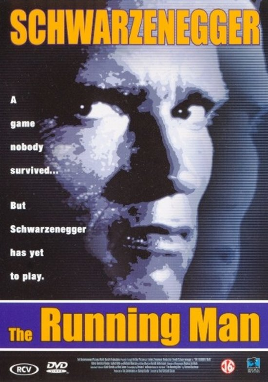 DVD cover van The Running Man