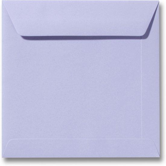 Envelop 19 x 19 Lavendel, 60 stuks