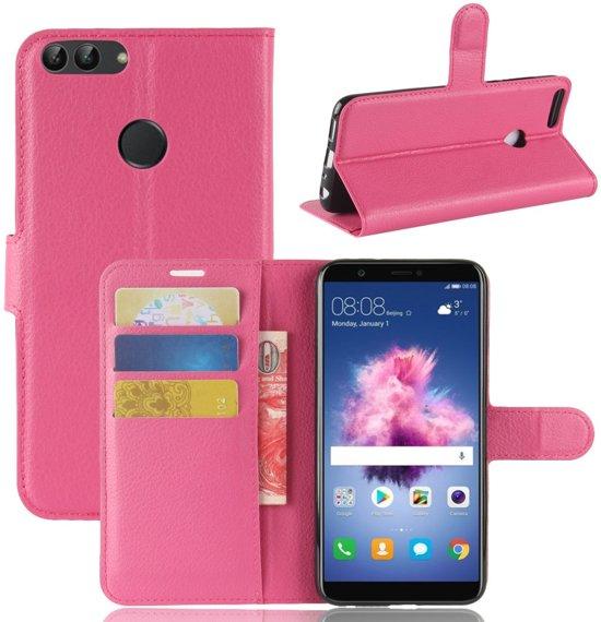Huawei P Smart Book Case Hoesje - Roze