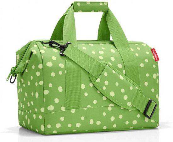 4d49ac8e2eb Reisenthel Allrounder M Reistas Sporttas - Polyester - Maat M - 18L - Spots  Green Kiwigroen
