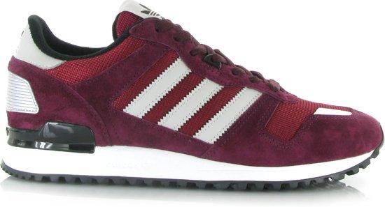 adidas zx 700 schoenen bordeaux rood rood
