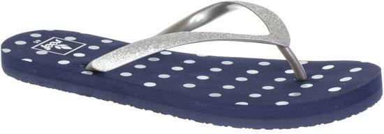 Reef LITTLE STARGAZER PRI BLUE DOTS 3/4 - Slippers - Maat 19/20