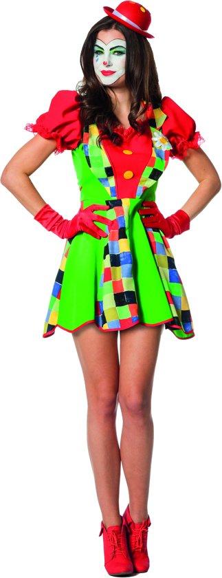 Clowns jurk Pepina voor dame maat 38