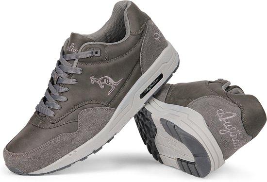 Retro Maat Max 42 Sneakers Grijs Heren Australian Swvn8qZS