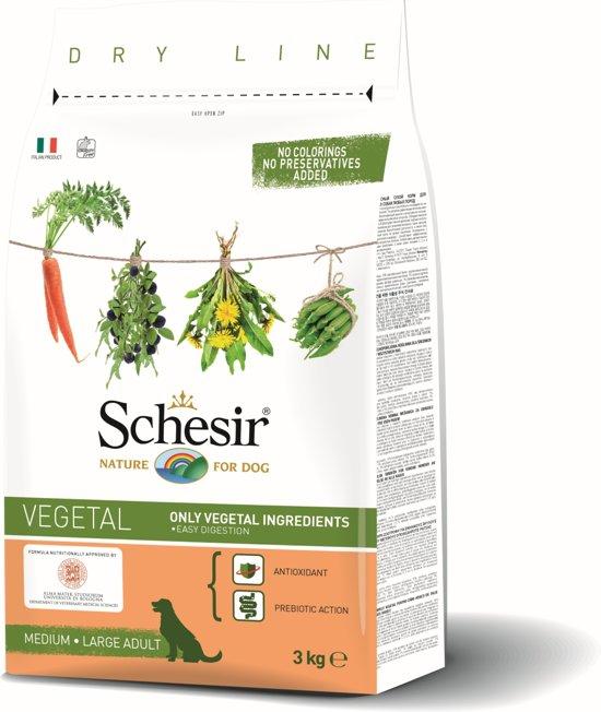 Schesir Vegetal Plantaardig - Adult - Hondenvoer - 3 kg
