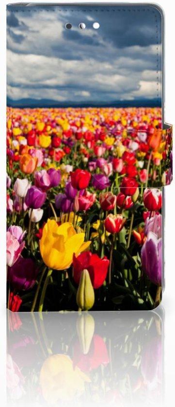Huawei P10 Uniek Design Hoesje Tulpen in Poelkapelle