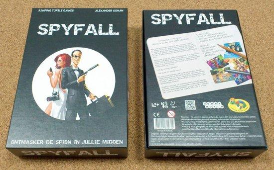 Thumbnail van een extra afbeelding van het spel Spyfall NL