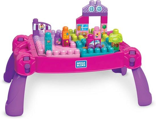 Mega Bloks Tafel : Bol mega bloks bouw en leer speeltafel roze mattel speelgoed
