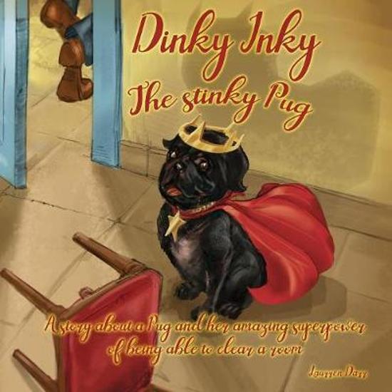 Dinky Inky The Stinky Pug