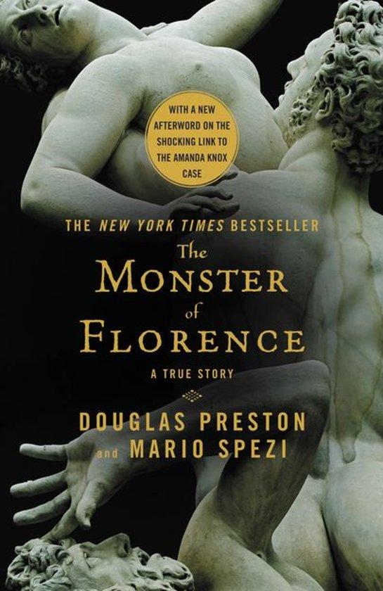 Boek cover The Monster of Florence van Douglas Preston (Onbekend)