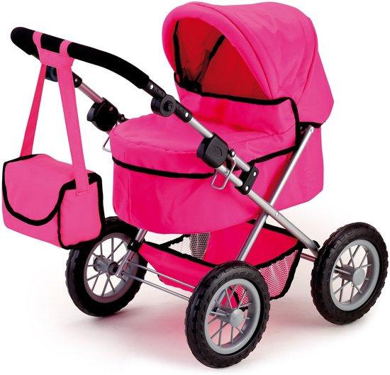 Afbeelding van Bayer Poppenwagen Trendy - Roze speelgoed