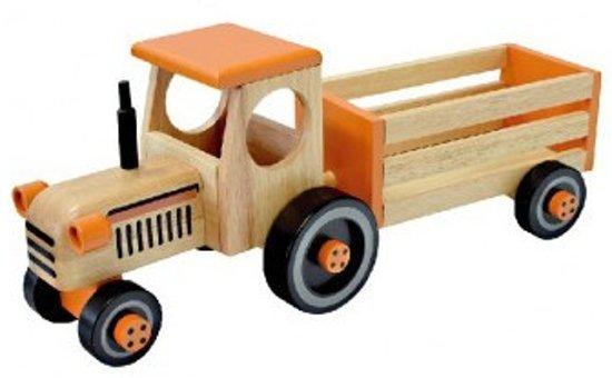 I'm Toy Tractor Met Aanhanger