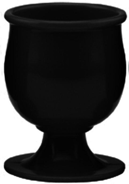 Zak!Designs Classic Eierdop - Melamine - Ø 5 cm - Zwart