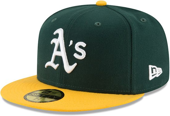 f40425be140 New Era MLB Authentic Collection Oakland Athletics Cap Unisex - 59FIFTY - 7  1 2