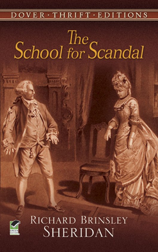 characterization in the school for scandal Home free essays the school for scandal i think she really did marry the old man just for his money, but in the end she realizes that she loves him too i think sir peter on the other hand lets her get away with these things out of sheet boredom and the need to have something to talk, or gripe about.