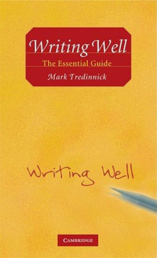 Writing Well