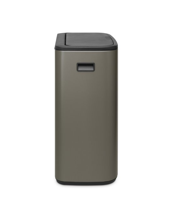Brabantia Bo Touch Bin 2 x 30 Liter Platinum