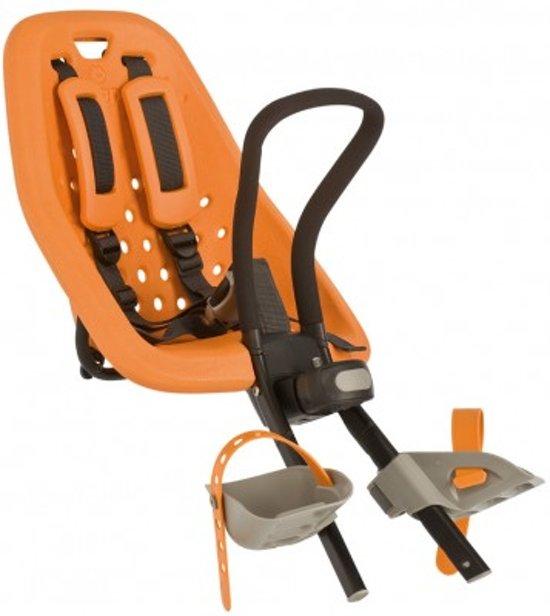 Goede bol.com | Gmg Yepp Mini Fietsstoeltje Voor - Oranje GW-97