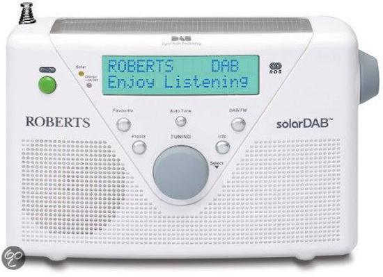 ROBERTS RADIO SOLARDAB2 WHITE