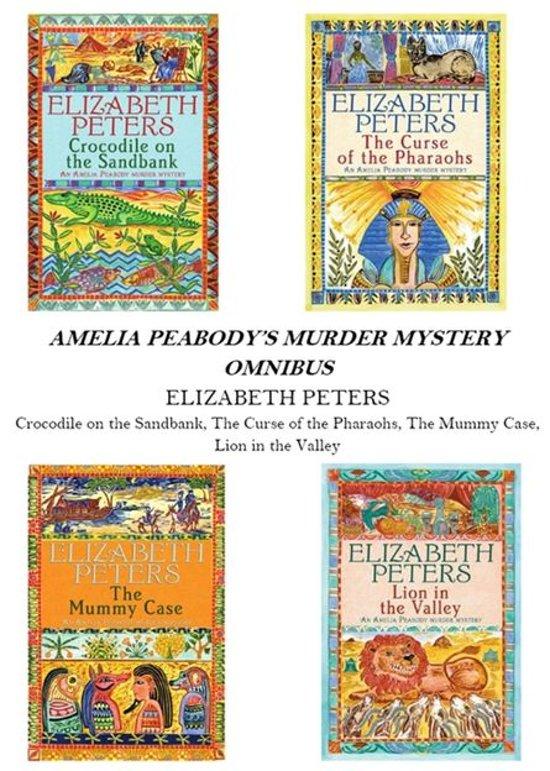 Amelia Peabody Omnibus (Books 1-4)