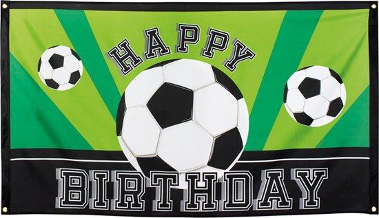Bol Com Happy Birthday Voetbal Banner Feestdecoratievoorwerp