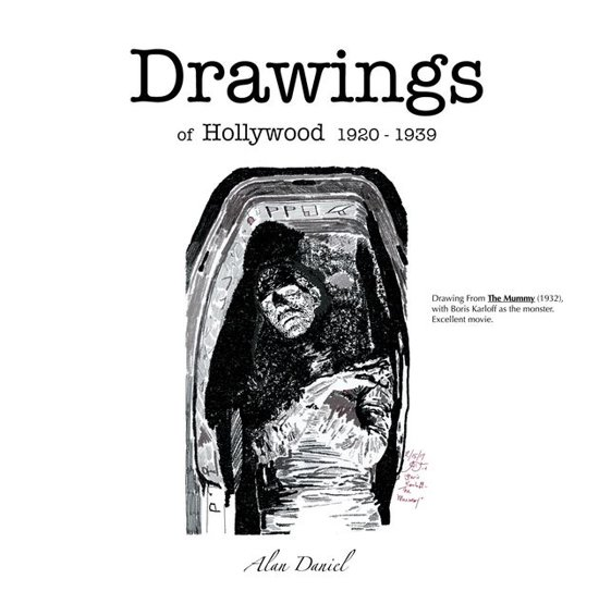 Drawings of Hollywood 1920-1939