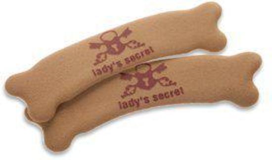 Lady's Secret hielbeschermers  No Pain Caramel