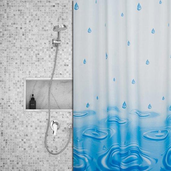 Roomture - douchegordijn - It's raining - 120 x 200