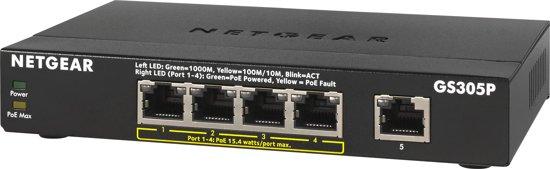 Netgear GS305P - Switch