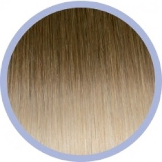 Euro So. Cap. Ombre Extensions Donkerblond/Lichtblond 10-20 10x50-55cm