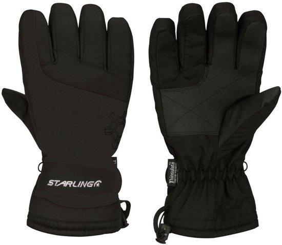 Zwarte wintersport handschoenen Starling met Thinsulate vulling voor volwassenen M (8)