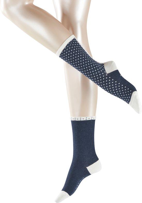 0c4e64aaccf bol.com | Esprit Dot Stripe Sokken Dames 2-PACK 17511 - 35-38 - Blauw