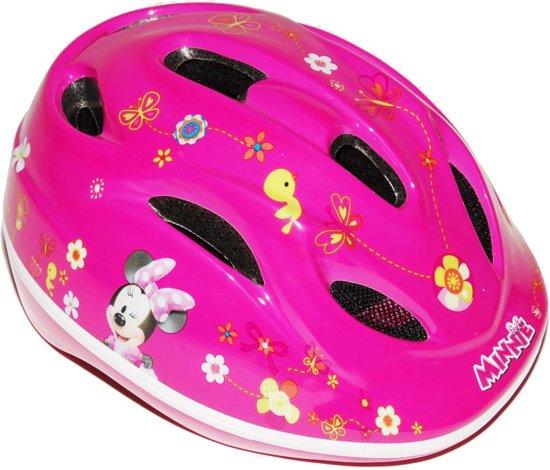 Disney Minnie Mouse Kinderhelm Fietshelm Roze
