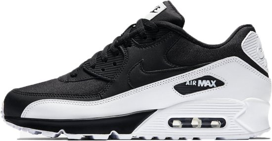 nike air max zwart wit