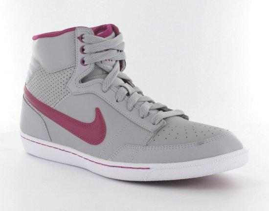 cb8d0c58479 Nike Women's Double Team Leather High - Sneakers - Dames - Maat 36.5 - Grijs /