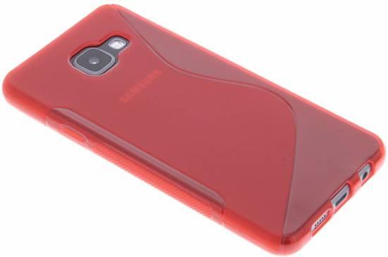 Coque Tpu Rouge S-line Pour Samsung Galaxy A3 (2017) 2pTiE