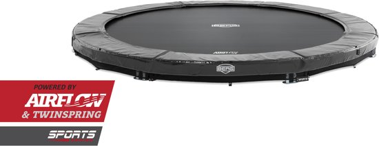 BERG InGround Elite Grey 330 Trampoline