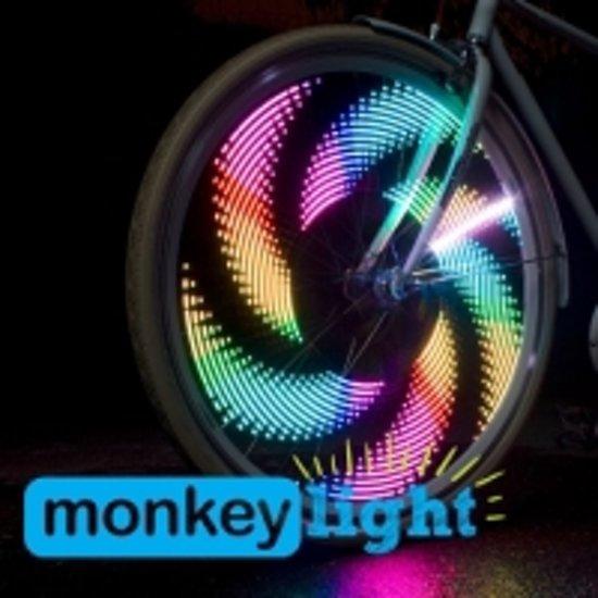 bol.com | Monkey Light M232 - Spoke Light - Fietsverlichting - Multi