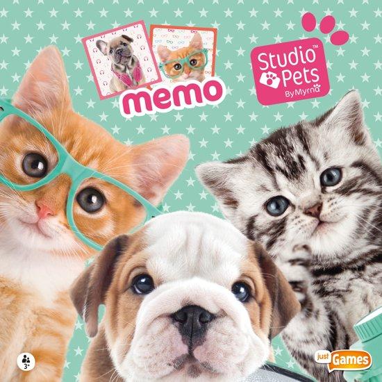 Thumbnail van een extra afbeelding van het spel Studio Pets - Memo