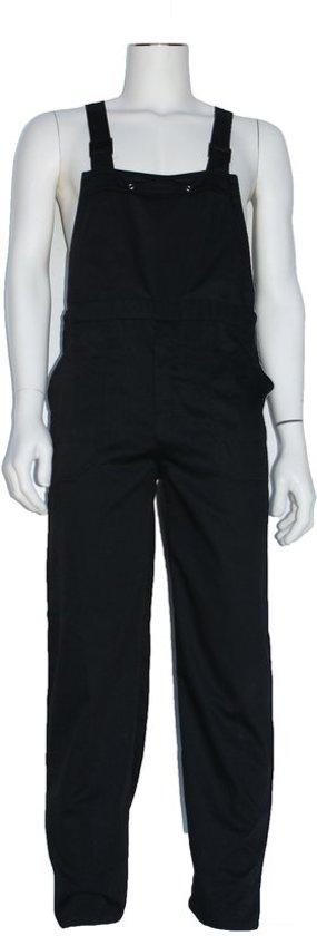 Yoworkwear Tuinbroek polyester/katoen zwart maat 104