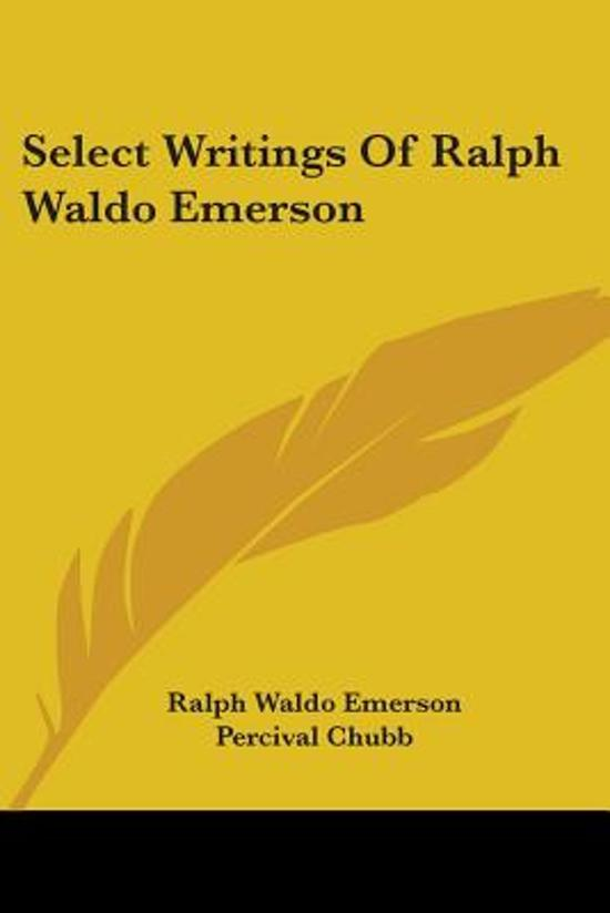 an introduction to the topic of the ralph waldo emerson Ii self-reliance ralph waldo emerson i hear a preacher announce for his text and topic the and appreciation for the life and work of ralph waldo emerson.