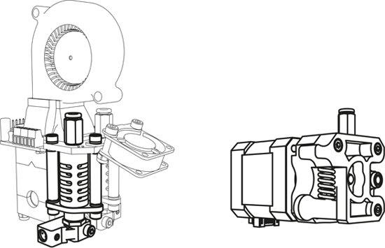 TWEEDE KOP VOOR K8400 - VERTEX 3D PRINTER