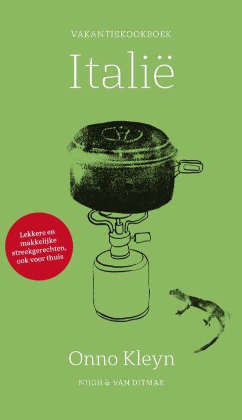 Boek cover Vakantiekookboek Italië van Onno Kleyn (Paperback)