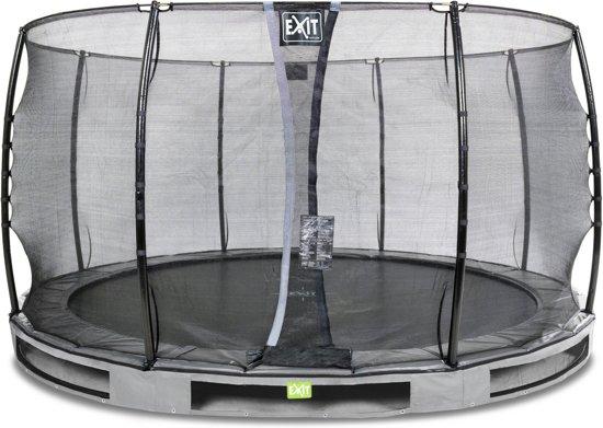 """""""EXIT Elegant Inground Trampoline à 366 cm met Veiligheidsnet """""""
