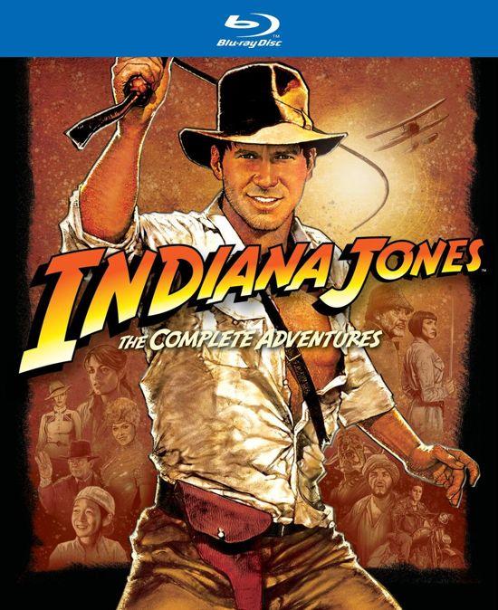 DVD cover van Indiana Jones - The Complete Adventures (Blu-ray)