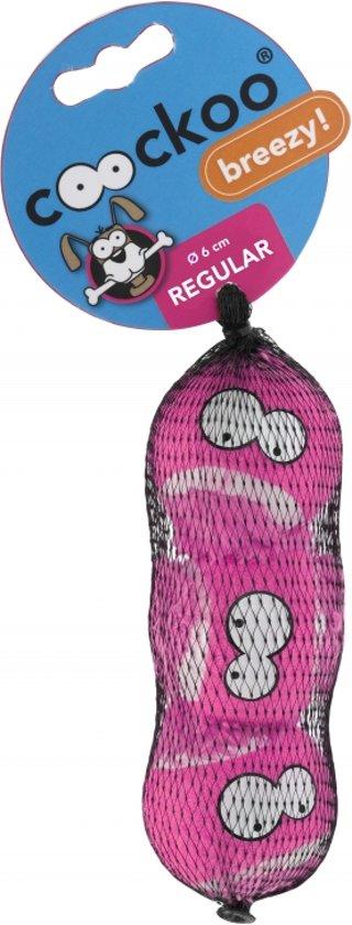 Tennisball breezy 3pcs Roze 7,5cm