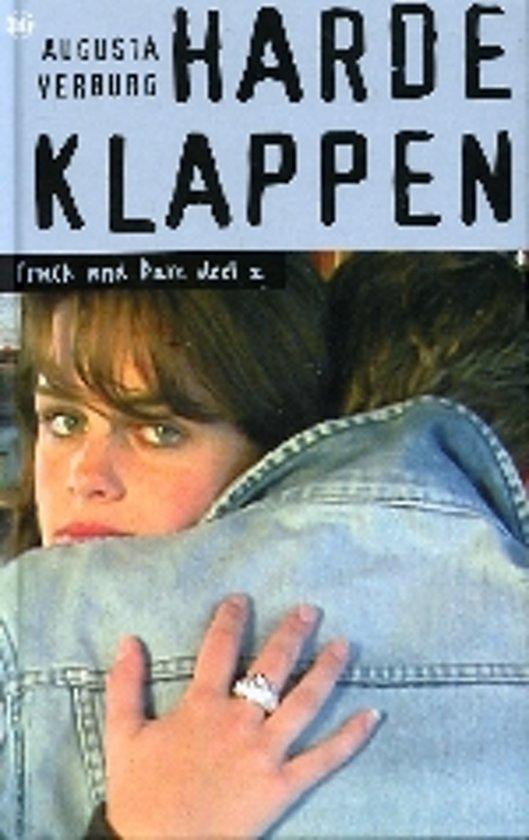 Cover van het boek 'Harde klappen' van Augusta Verburg