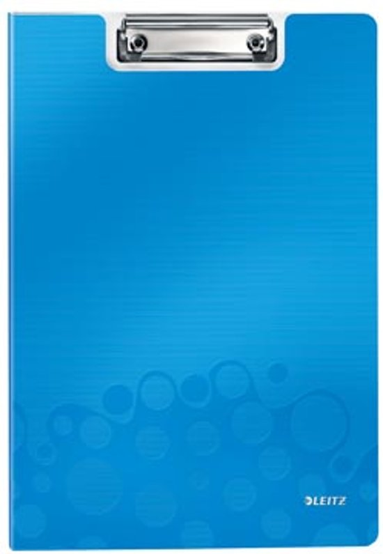 Leitz WOW Klembord met Omslag Kunststof - A4 - Blauw
